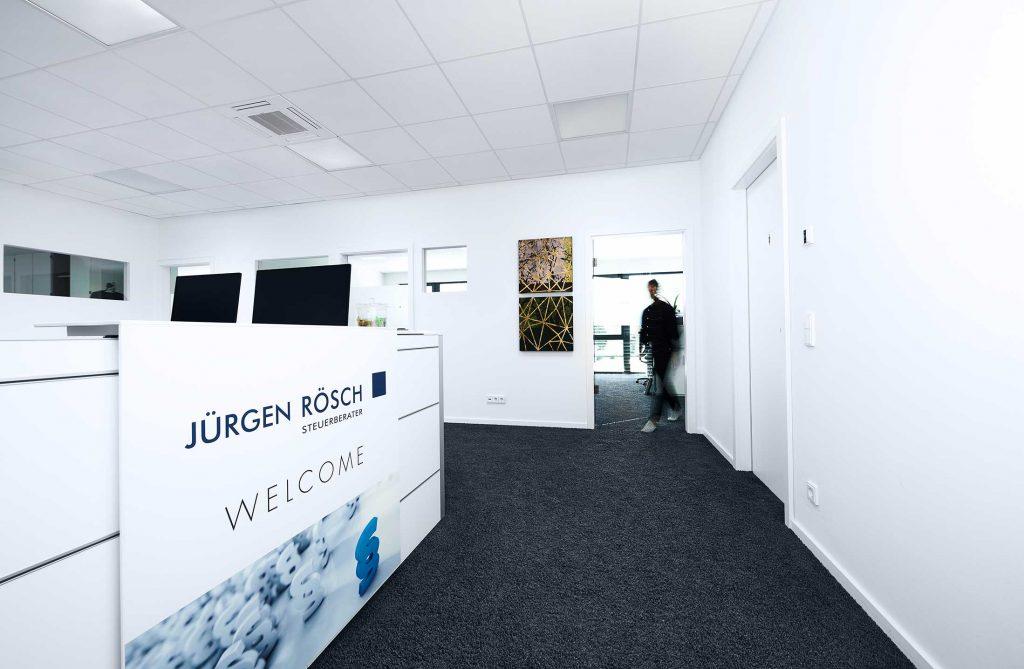 Jürgen Rösch Eingangsbereich